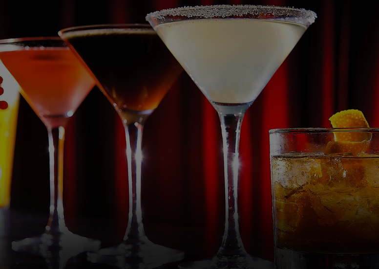 $3.50 Rail Drinks, $2 OFF House Cocktails, $2 OFF Crushes